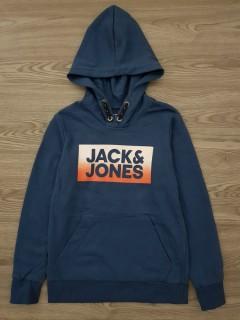 JACK AND JONES Boys Hoodi (NAVY) (10 to 16 years)
