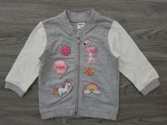 MANA Girls Sweat Shirt (GRAY) (3 to 36 Month)