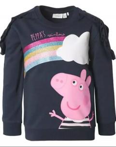 NAMEIT Girls Sweatshirt (NAVY) (6 Months to 5 Years)