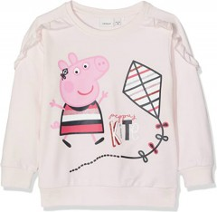 NOMEIT Girls Sweat Shirt (PINK) (1 to 5 Years)