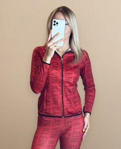 Ladies Turkey 2 Pcs Hoody Set (RED) (XS - S - M - L)