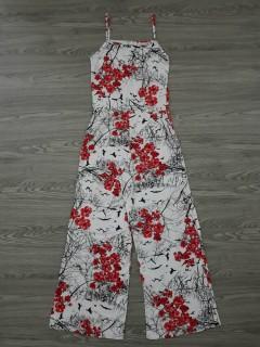 BLUSH Ladies Turkey Dress (WHITE - RED) (S - M - L)