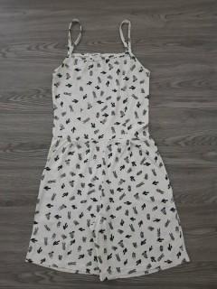 BLUSH Ladies Jumpsuit (WHITE) (S - M - L)