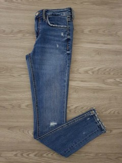 ZARA Ladies Jean Pants (BLUE) (34 to 36 EURO)