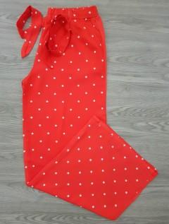 HANIMCA Ladies Turkey Pants (RED) (S - M - L - XL)