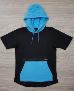 CSG Mens Hoody (BLACL - BLUE) (S - M - L - XL - XXL - 3XL - 4XL)