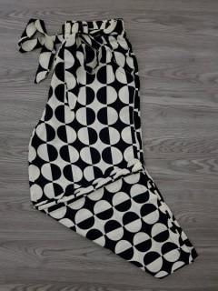 HANIMCA Ladies Turkey Pants (BLACK - WHITE) (S - M - L - XL)