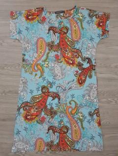 BLUSH Ladies Turkey Jumpsuit (LIGHT BLUE) (S - M - L - XL - XXL - 3XL)