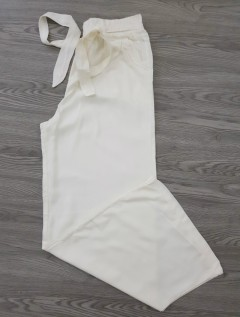 HANIMCA Ladies Turkey Pants (CREAM) (S - M - L - XL)