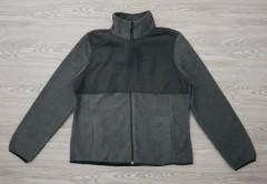 LEG3ND Mens Jacket (BLACK - DARK GRAY) (S)