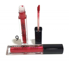 USHAS Liquid Lip Gloss Metallic & Long-lasting 09 (FRH)