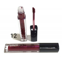 USHAS Liquid Lip Gloss Metallic & Long-lasting 12 (FRH)