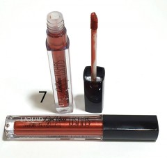 USHAS Liquid Lip Gloss Metallic & Long-lasting 07 (FRH)