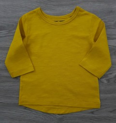 NEXT Boys Long Sleeved Shirt (YELLOW) (3 Month to 6 years)