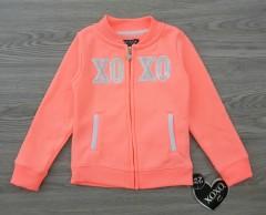 XOXO Girls Sweatshirt (LIGHT PINK) (4 Years)