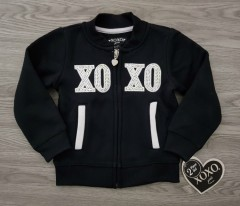 XOXO Girls Sweatshirt (BLACK) (2 to 4 Years)