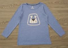 LUPILU Boys Long Sleeved Shirt (BLUE) (2 to 6 Years)