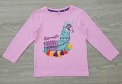 KIKI KOKO Girls Long Sleeveless Shirt (PINK) (1 to 7 Years)
