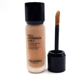 TAILAIMEI PROFESSIONAL Full Coverage 2 In 1 Foundation And Concealer 40ml No104 (Exp: 12.2023) (FRH)