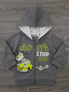 MIGNOLO Boys Sweat Shirt (GRAY) (3 to 30 Months)