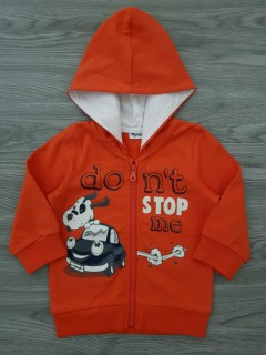 MIGNOLO Boys Sweat Shirt (RED) (6 Months)