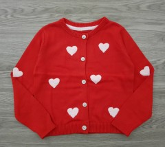 NORMAL Girls CARDIGAN (RED) (3 to 7 Years)