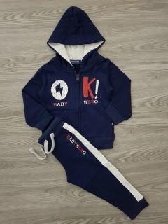 OKAIDI Boys Hoody Set (NAVY) (18 Months to 5 Years)