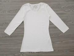 BASIC Ladies Blouse (WHITE) (34 to 48 EURO)