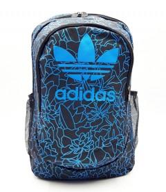ADIDAS Back Pack (BLACK-BLUE) (Os) (ARC)
