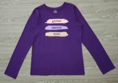 GEORGE Girls Long Sleeved Shirt (PURPLE) (4 to 16 years)