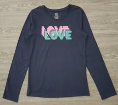 GEORGE Girls Long Sleeved Shirt (DARK GRAY) (6 to 16 years)