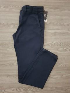 OLD SEAMS Mens Twill Long pants (BLACK) (30 to 40 WAIST)