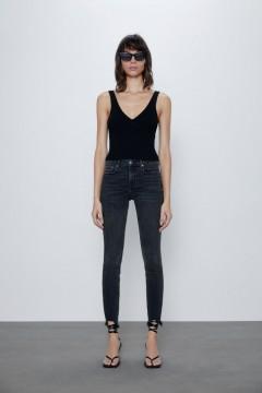 ZARA Ladies Jeans (DARK GRAY) (34 to 44 EUR)