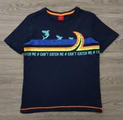 SOLIVER Boys T-Shirt (BLACK) (116 CM to 122 CM)