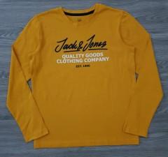 JACK AND JONES Boys Long Sleeved Shirt (YELLOW) (12 Years)