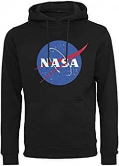 NASA Mens Hoody (BLACK) (S - M - L - XL - XXL)