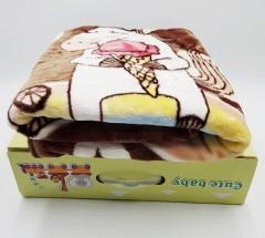 COMPOSITION Baby Blanket (BROWN) (100 / 120 CM) (FRH)