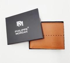 PHILIPPE MORGAN Mens Wallet (BROWN) (OS)