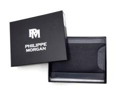 PHILIPPE MORGAN Mens Wallet (BLACK)