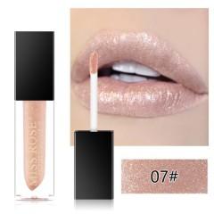 MISS ROSE Diamond Crystal Lip Gloss Tint High Shine Metallic Liquid (07) (FRH)