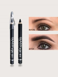GLAZZI  Waterproof Eyeliner Pencil Black 01 (FRH)
