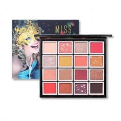 MISS ROSE Eye shadow 16Color 3D Palette (MOS) (Exp: 24.08.2024)