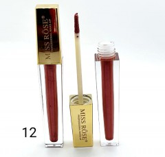 MISS ROSE Lip Gloss (No.12) (FRH)