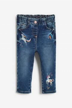 NEXT Girls Jeans (DARK BLUE) (6 Months to 6 Years)