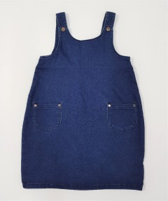 M AND S Girls Romper (DARK BLUE) (9 Months to 7 Years)