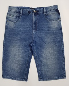 NUKUTAVAKE Boys Jeans Shorty (BLUE) (8 to 18 Years)