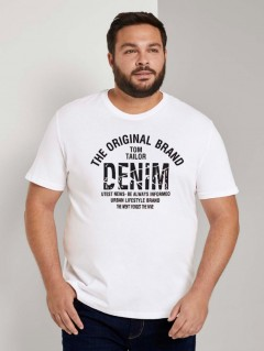 TOM TAILOR Mens T-Shirt (WHITE) (S - M - L)