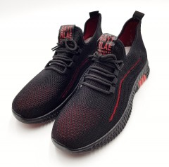 FTW  Mens Shoes (BLACK_ RED) ( 40 to 45)