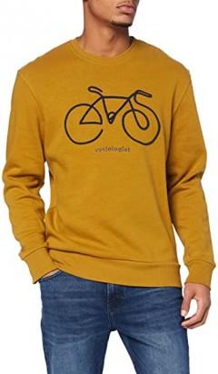 SPRINGFIELD Mens Sweatshirt  (BROWN) (S - M - L - XL - XXL)