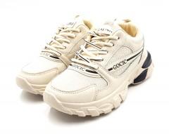 FAMOUS Ladies Shoes (LIGHT CREAM) (36 to 40)